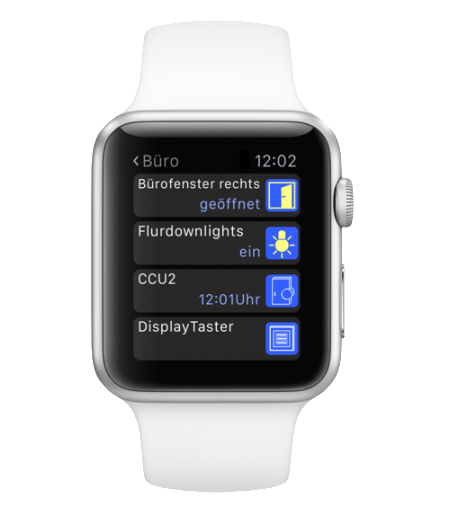 Apple Watch mit eQ3-App