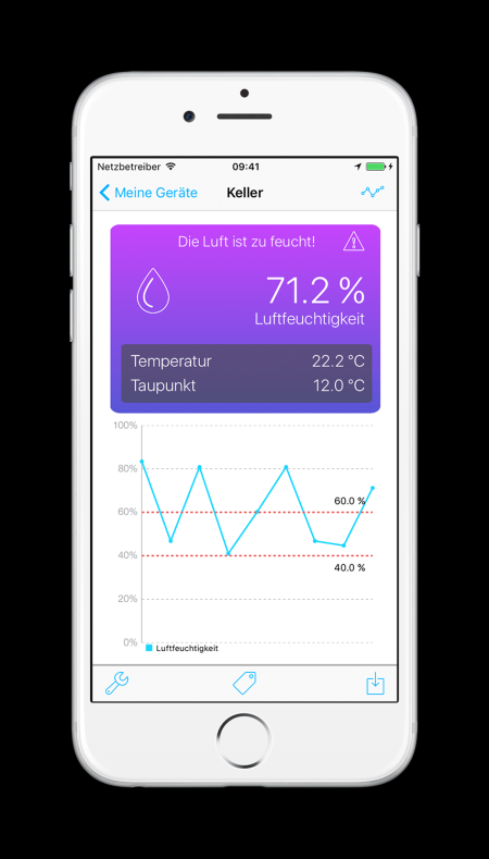 bluesensor air app